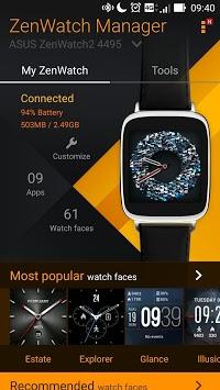ZenWatch Manager pc screenshot 2