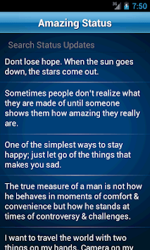 50000 Status Quotes Collection pc screenshot 1