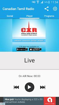 Canadian Tamil Radio PC screenshot 1