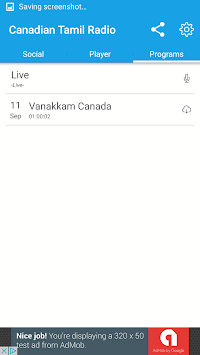 Canadian Tamil Radio PC screenshot 2