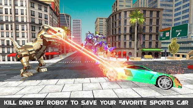Dinosaur Robot Transform: Car Robot Transport Sim pc screenshot 1