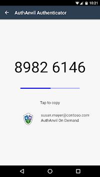 AuthAnvil Authenticator pc screenshot 1
