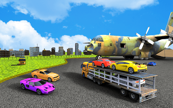 Car Transporter Plane Simulator – City Cargo Car pc screenshot 2