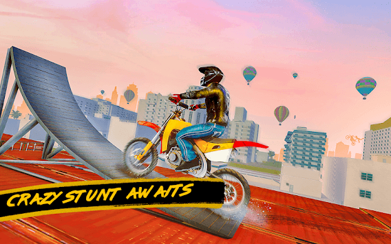 Crazy City Bike Racing Stunt Master pc screenshot 2