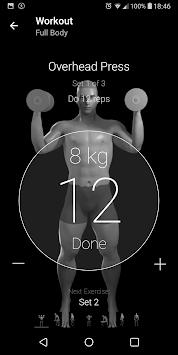 Dumbbell Home Workout pc screenshot 2