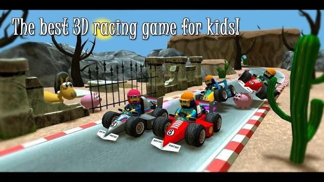 Kids Racing Islands, race for kids pc screenshot 1