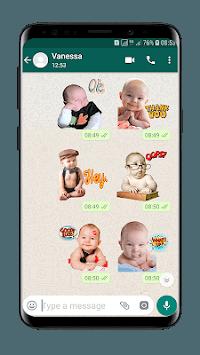 Cute Baby Stickers (WAStickersApps) pc screenshot 1