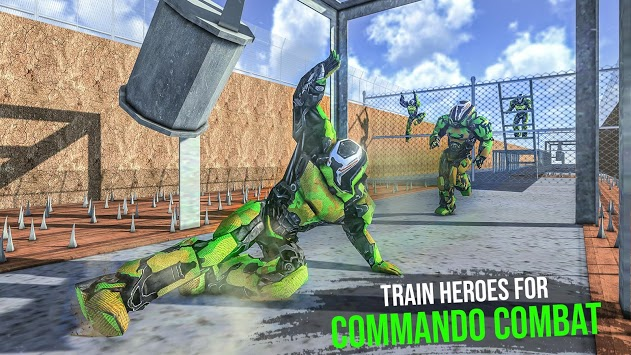US Army Robot Training Camp: Special Force Course pc screenshot 1