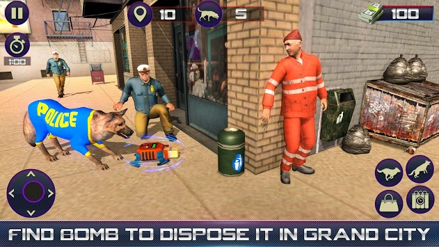 Us Police Dog Duty Simulator pc screenshot 2