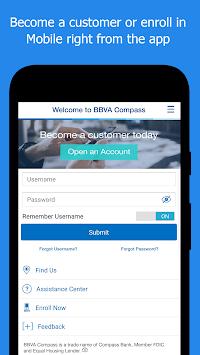 BBVA Compass Banking pc screenshot 1