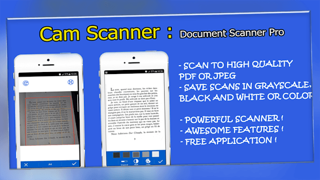 Cam Scanner | Document Scanner Pro pc screenshot 1