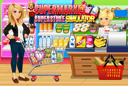 Supermarket Grocery Superstore - Supermarket Games pc screenshot 1