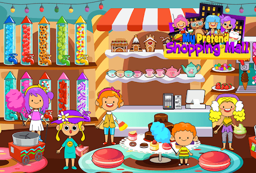 My Pretend Mall - Kids Shopping Center Town Games pc screenshot 1