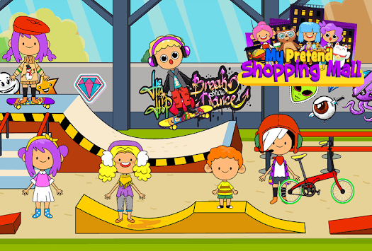 My Pretend Mall - Kids Shopping Center Town Games pc screenshot 2