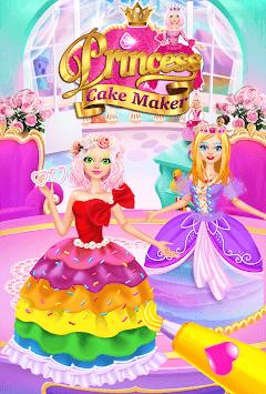Rainbow Princess Cake Maker - Kids Cooking Games pc screenshot 1