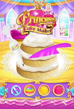 Rainbow Princess Cake Maker - Kids Cooking Games pc screenshot 2