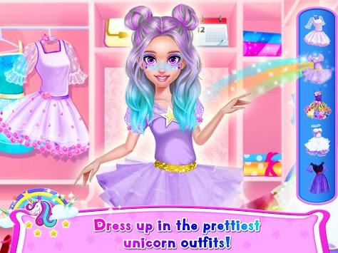 Rainbow Unicorn Hair Salon pc screenshot 2