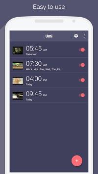 Umi - alarm clock for YouTube ☝ pc screenshot 1