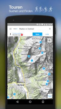 bergfex Tours & GPS Tracking Running Hiking Bike pc screenshot 1