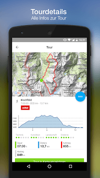 bergfex Tours & GPS Tracking Running Hiking Bike pc screenshot 2