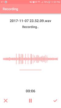 Voice Recorder - Voice Memo pc screenshot 2