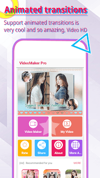 Music Video Maker - Photo Video Editor pc screenshot 1