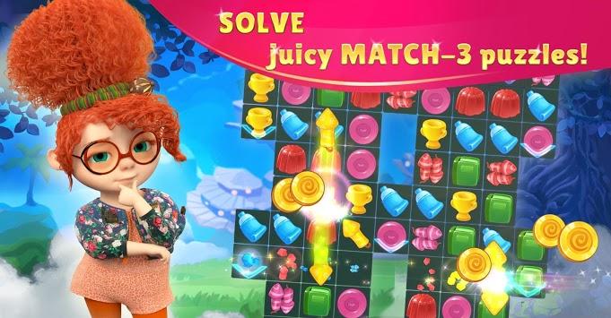 JingleKids: Paradise Island MATCH 3 PUZZLE QUEST pc screenshot 2