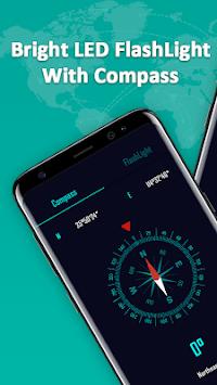 Compass & Super Bright Flashlight PC screenshot 1
