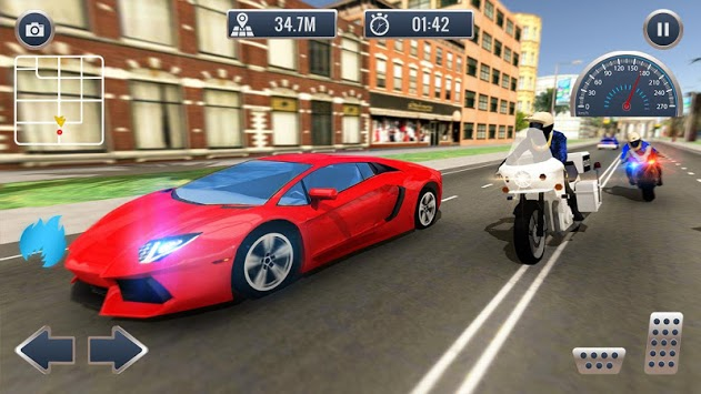 Crime Cop Bike Police Chase pc screenshot 2