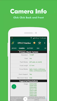 CPU-Z Hardware Info pc screenshot 1