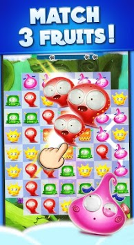 Candy Monsters - Pop The Fruit Candy Juice Crush pc screenshot 2