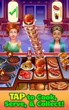 Cooking Craze: Crazy, Fast Restaurant Kitchen Game pc screenshot 1