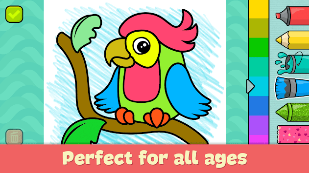 Coloring games for kids pc screenshot 1