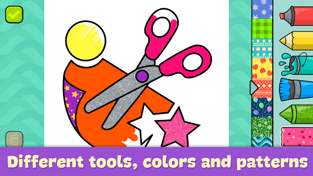 Coloring games for kids pc screenshot 2