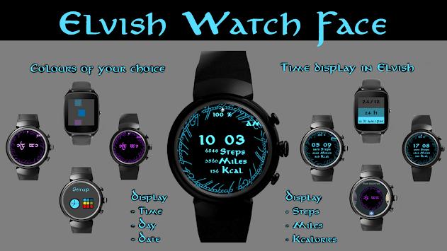 Elvish Watch Face pc screenshot 1