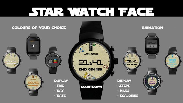 Star 8 Watch Face pc screenshot 1