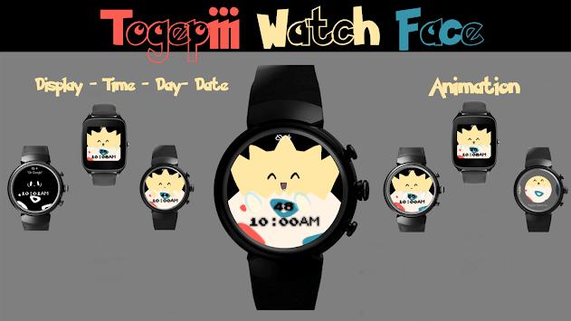Togepiii Watch Face pc screenshot 1