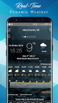 Weather Today App: Forecast, Radar, Clock & Widget pc screenshot 1