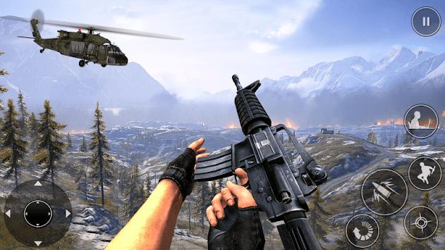 Army Commando Secret Mission : Shooting Games pc screenshot 2