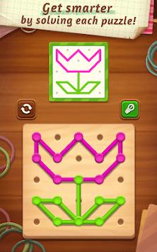 Line Puzzle: Color String Art pc screenshot 1