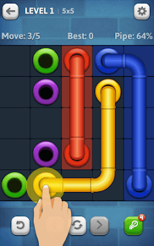 Line Puzzle: Pipe Art pc screenshot 1