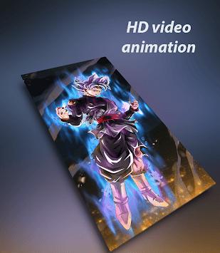 Anime live wallpaper (HD video) pc screenshot 1