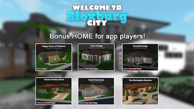 Bloxburg City pc screenshot 1