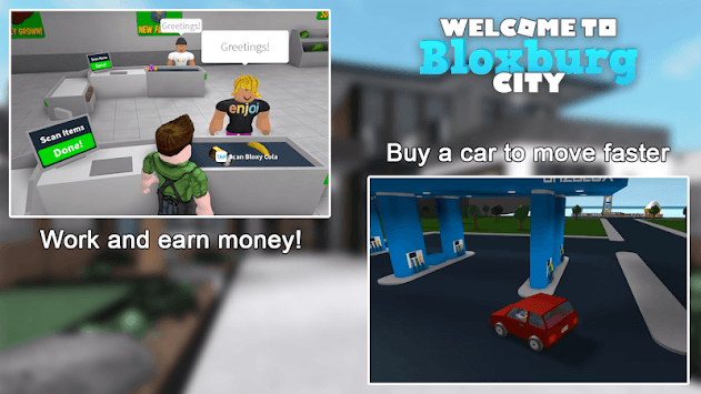 Bloxburg City pc screenshot 2