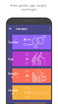 Body Mass Index(BMI) Calculator, BMR, Ideal Weight pc screenshot 1