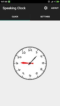 সময় বলা ঘড়ি Bangla Talking Clock (Ad free) pc screenshot 1