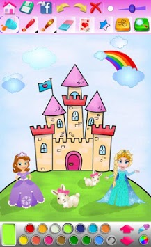 Princess Coloring Game pc screenshot 2