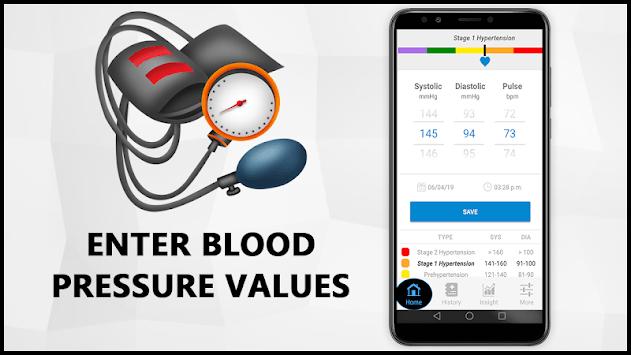 Blood Pressure Check Diary : History Log : BP Info pc screenshot 2