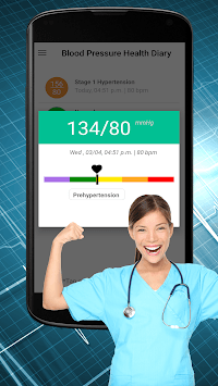 Blood Pressure Tracker : Scan Test Checker Diary pc screenshot 1