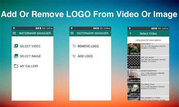 Remove & Add Watermark pc screenshot 1